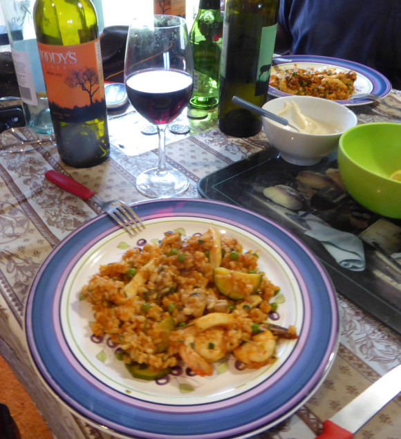 2015 and paella